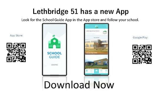 Lethbridge School Division app available for Apple and